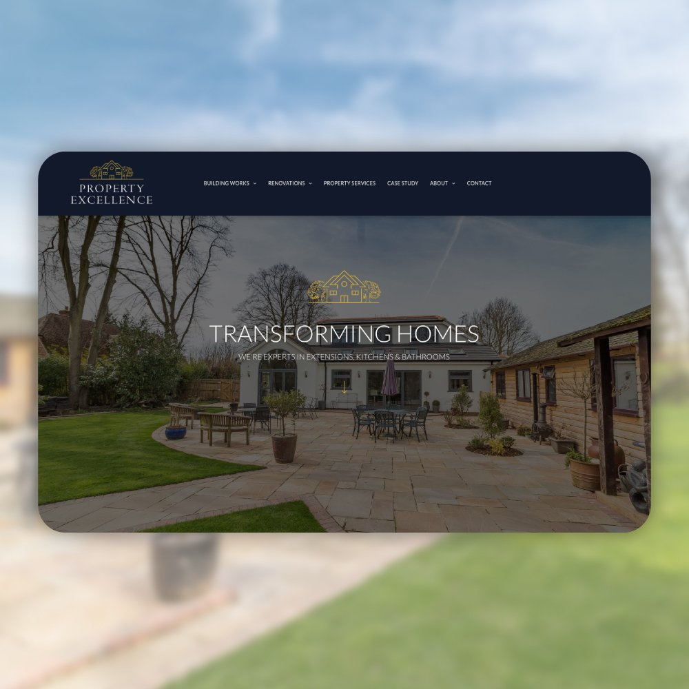 Property Excellence webdesign by Digity