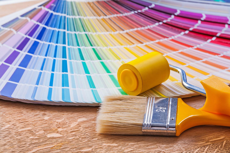 pannello di colori