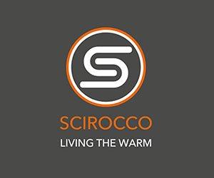logo Scirocco living the warm