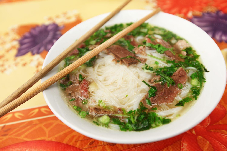 Thai cuisine noodle dish in Anchorage, AK