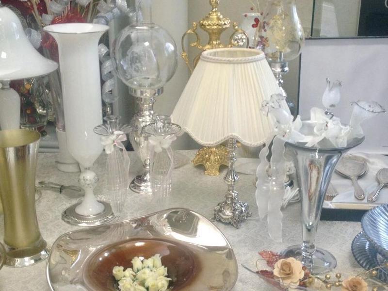bomboniere, oggettistica ed argenteria