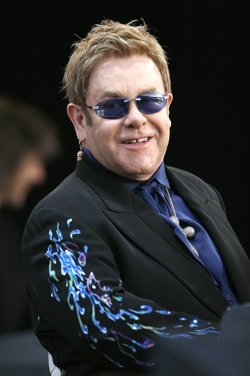 Elton John @ Plymouth Home Park 28th May 2007 www.leapimages.co.uk