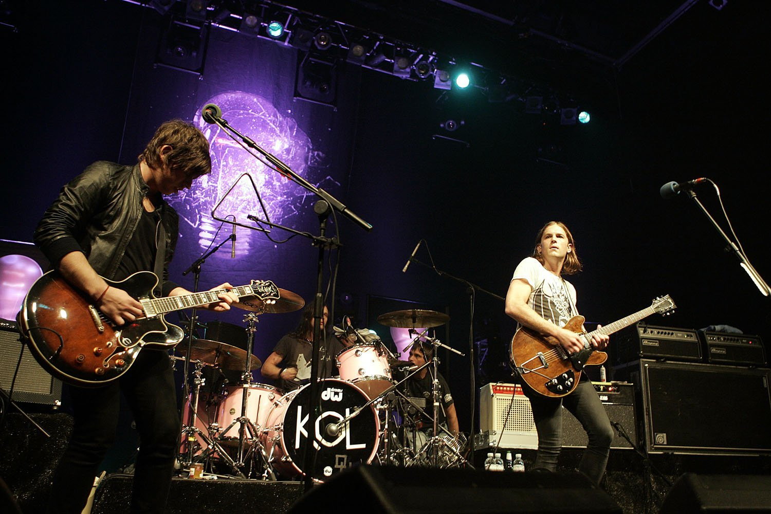 Kings of Leon @ Plymouth Pavilions 15th April 2007 - www.leapimages.co.uk