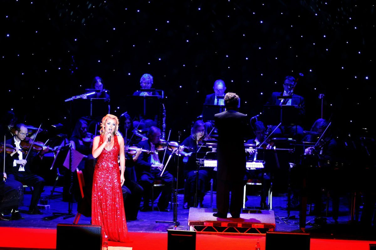 Katherine Jenkins @ Plymouth Pavilions 10th December 2008