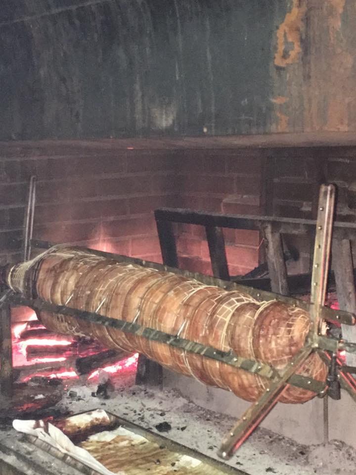 Insaccato di carne fiorentina cotta al girarrosto