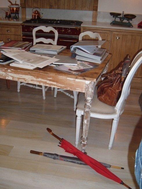 Tavoli in legno per cucina su misura