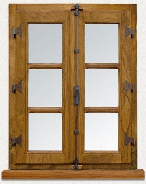 realizzazione, finestre, legno