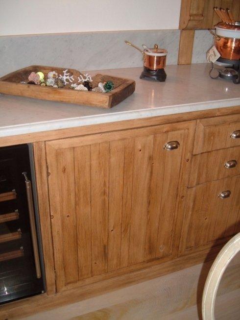 Realizzazione di una cucina in legno massello