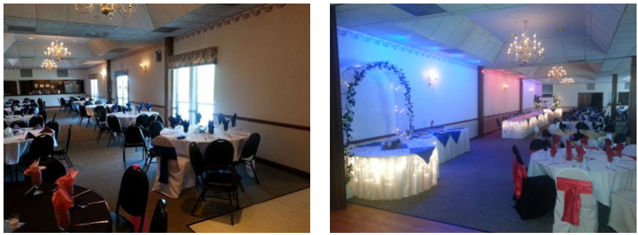 Banquet hall where business or wedding events in O'Fallon, MO, take place