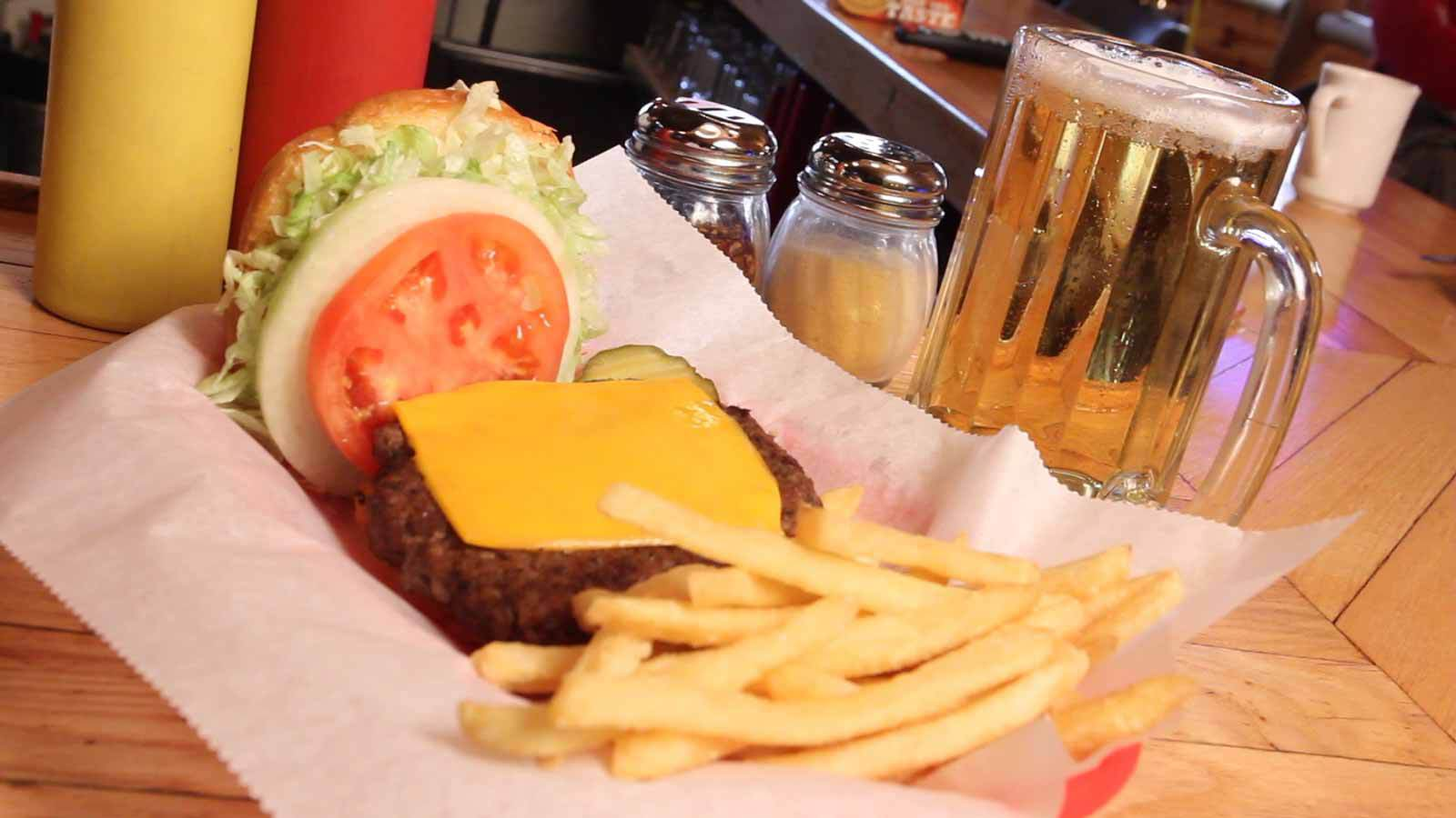 Krazy K's Cheeseburger
