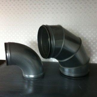 tubi circolari, montaggio tubi, installazione condotte