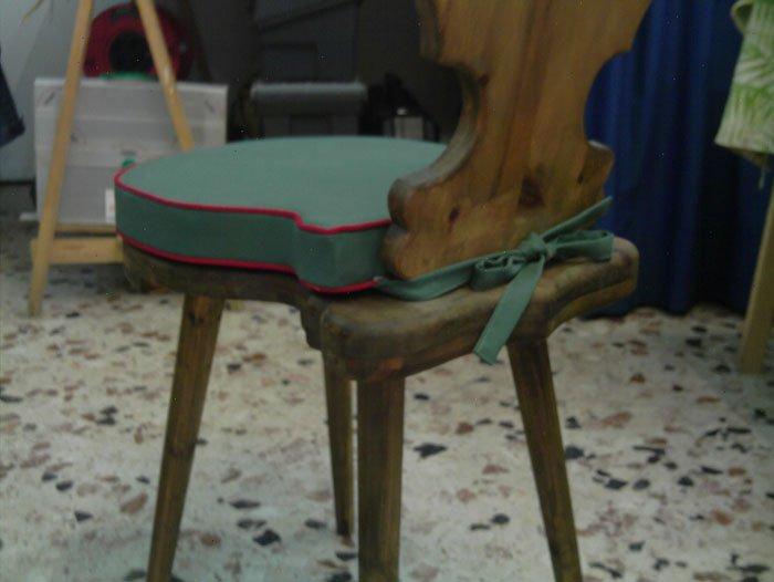 realizzazione di sedie