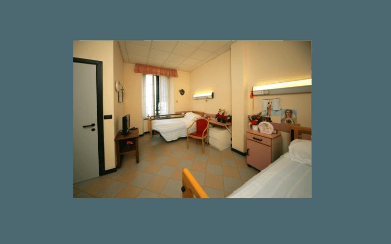 stanza residenza anziani