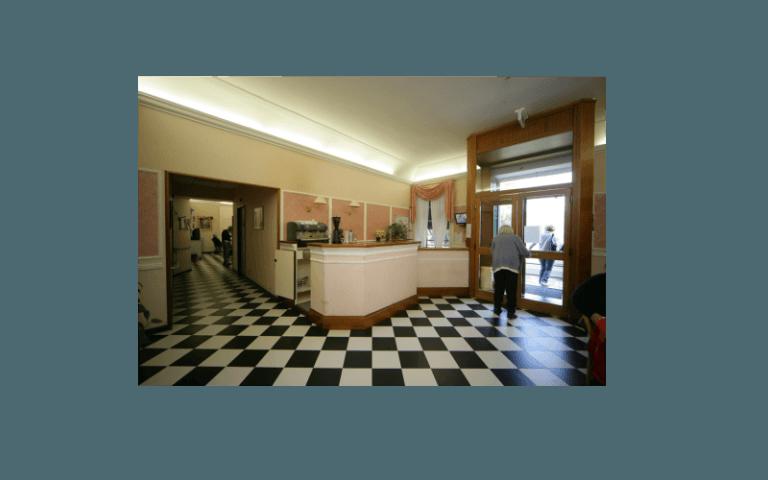 reception centro anziani