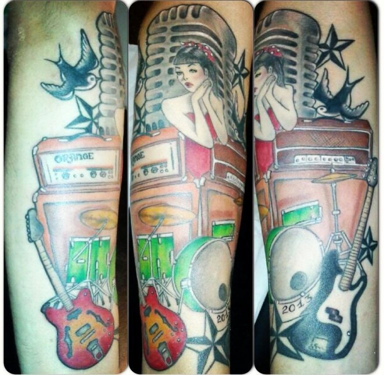 tatuaggio Pinna