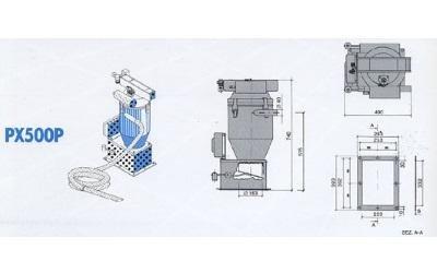 conveyor model px500p