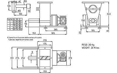 progetto dosatore DS 6 SR