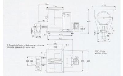 progetto impianto dosatore