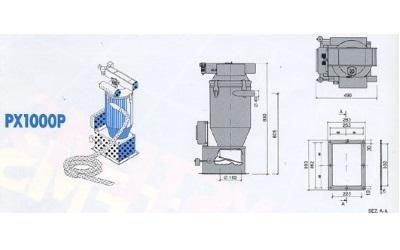 conveyor model px1000p