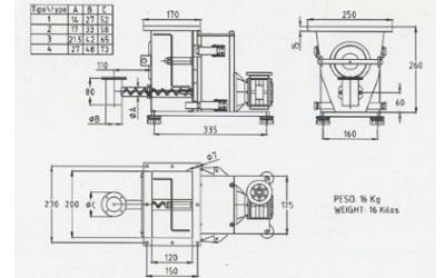 single screw feeder design