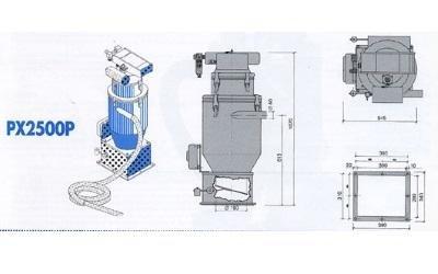 conveyor model px2500p