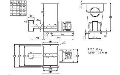 progetto dosatore DS11SR