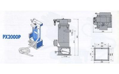 conveyor model px2000p