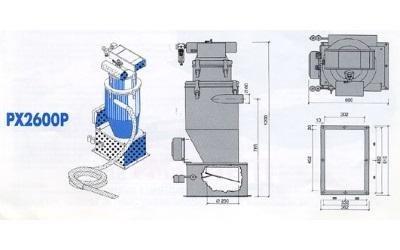 conveyor model px2600p