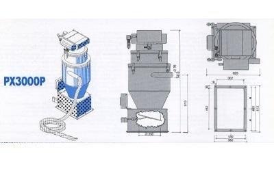conveyor model px3000p