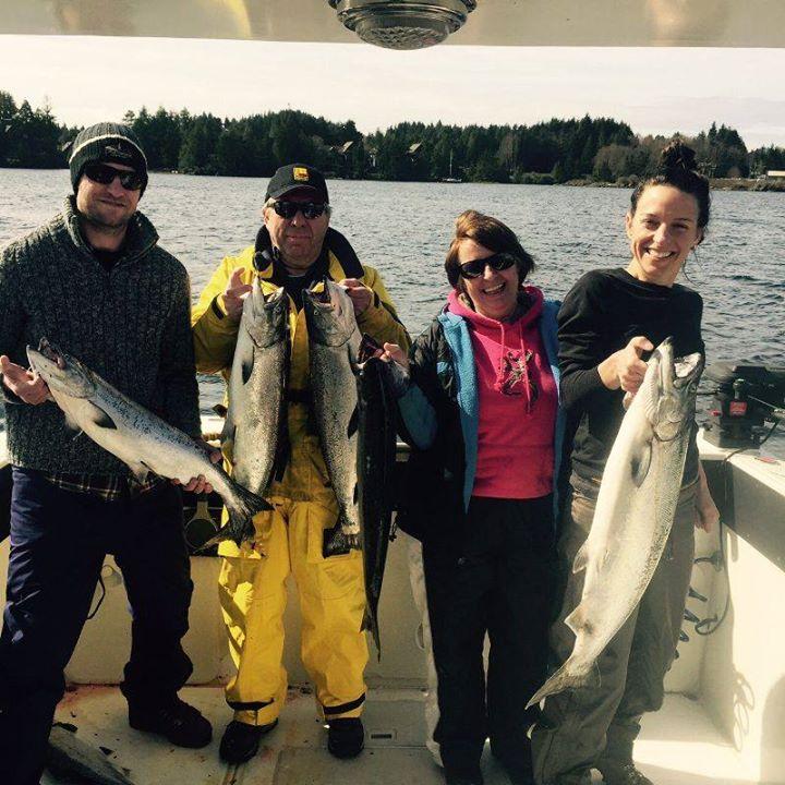 Ucluelet Salmon Fishing Report - Salmon fishing map us
