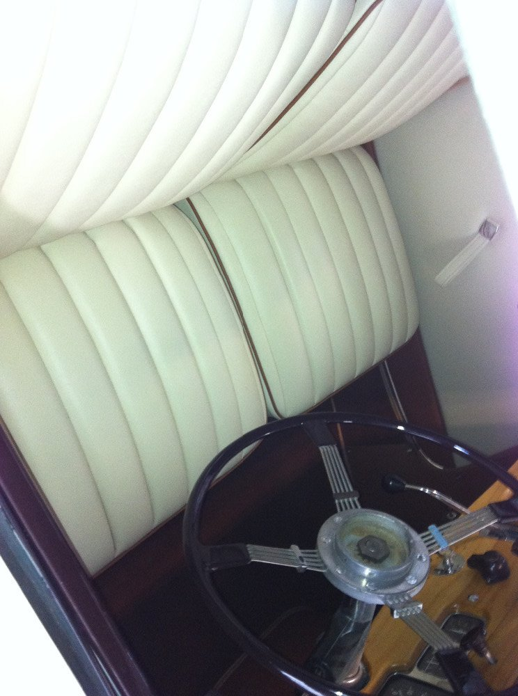 Car interiors work - after completion