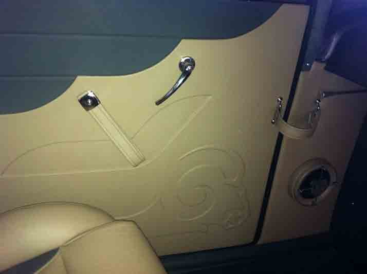 Side door car upholstery