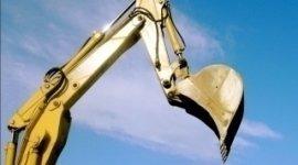 scavatrice, scavo, riparazione scavatrice