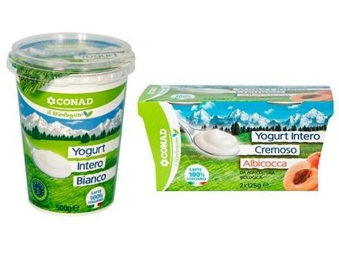 yogurt bio conad