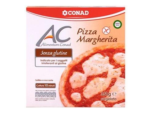 pizza margherita senza glutine conad