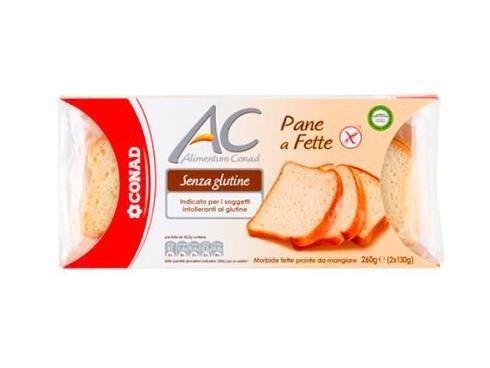 pane a fette senza glutine conad