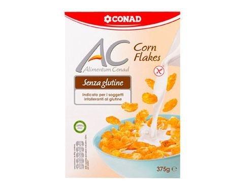 corn flakes senza glutine conad