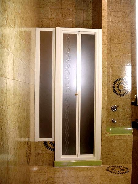 box doccia con decoro