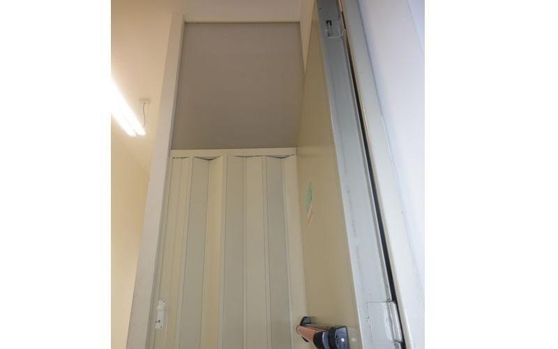 Porta a soffietto in PVC