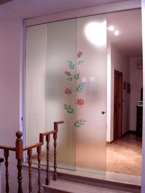 porta con vetro fisso