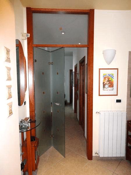 porta incasso in legno