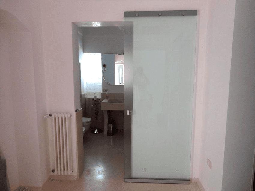 porta a parete invisibile