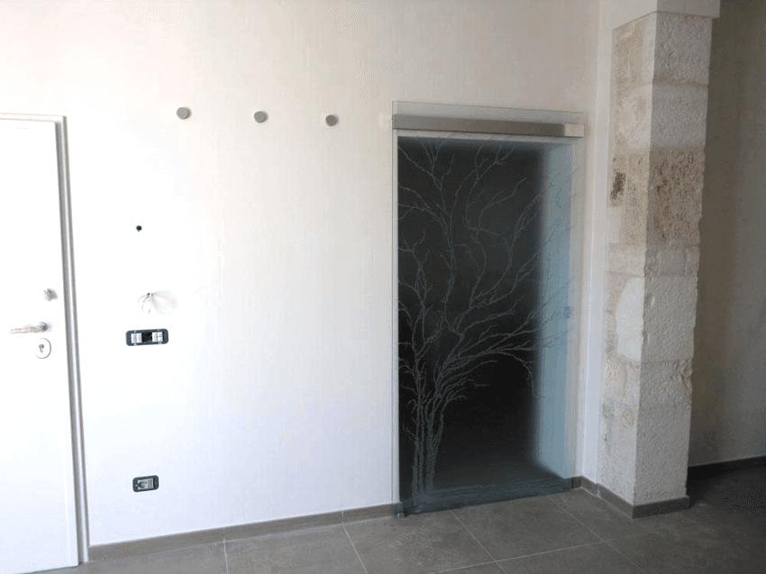porta a parete