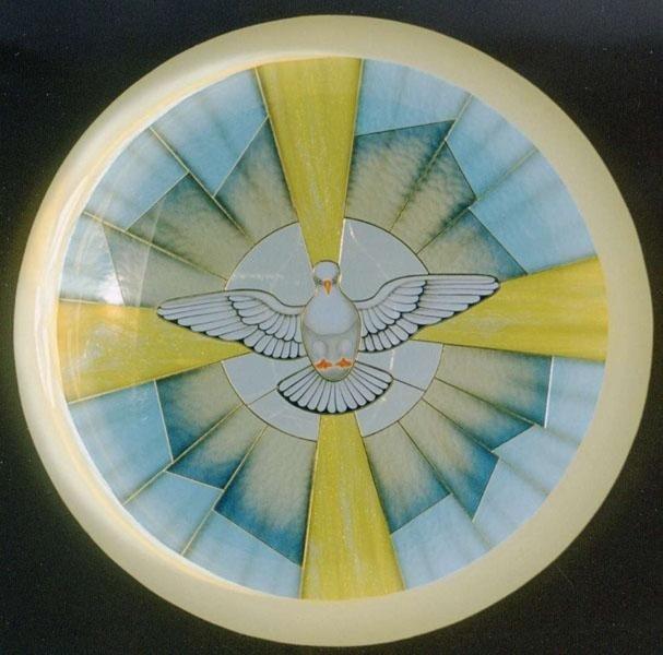 Cupola con inserimento soggetto sacro