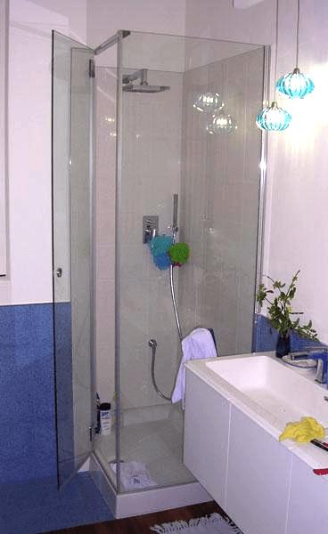 box doccia portella ad angolo