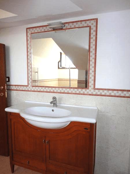 Specchio incassato