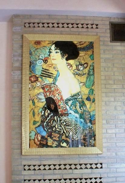 Signora con ventaglio (Klimt)