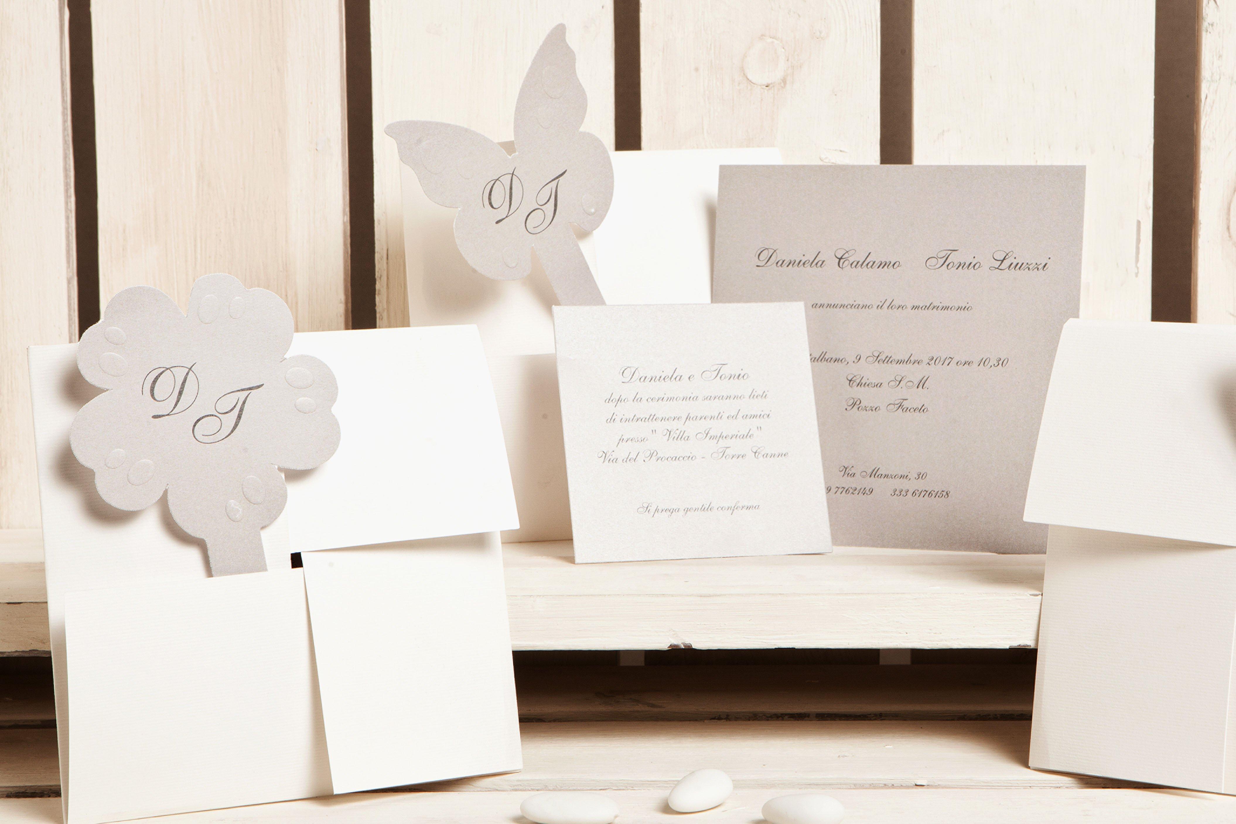 Inviti e partecipazioni di nozze