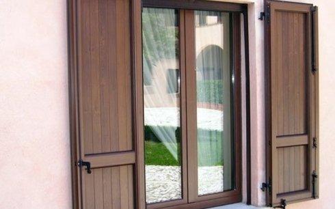 persiane in legno alluminio