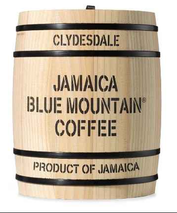 Jamaica Blue Mointain Coffee barile